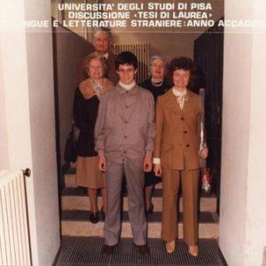 26-Marzo-1985 - Laurea in Lingue presso Universita di Pisa